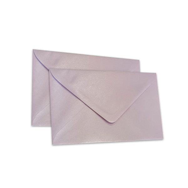 Pearlescent Envelopes C6 Lavender, Pack 1000