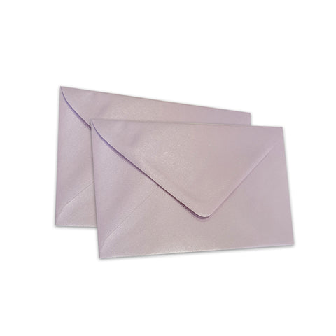 Pearlescent Envelopes C6 Lilac, Pack 1000