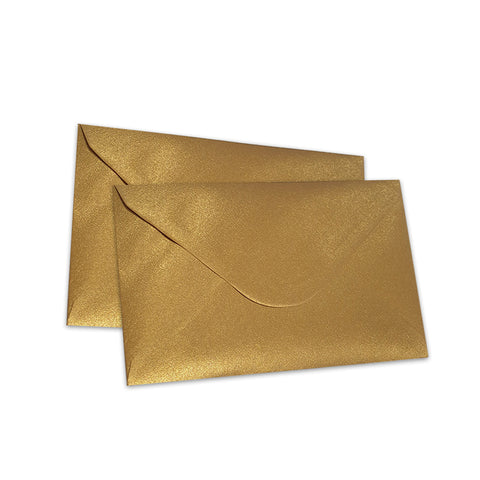 Pearlescent Envelopes C6 Old Gold, Pack 1000