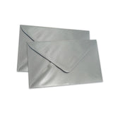 Pearlescent Envelopes C6 Silver, Pack 1000