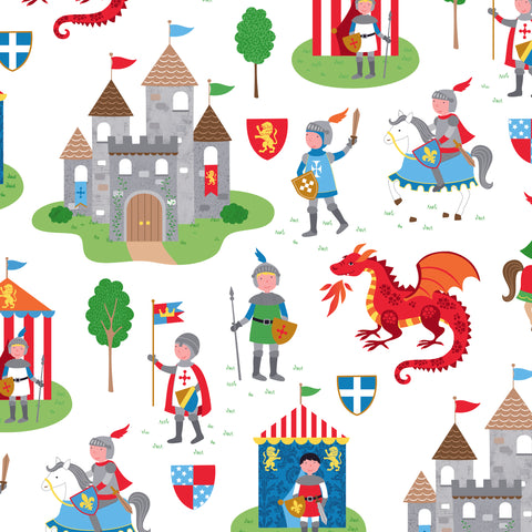Once Upon a Castle Novelty Counter Roll (100m x 50cm)