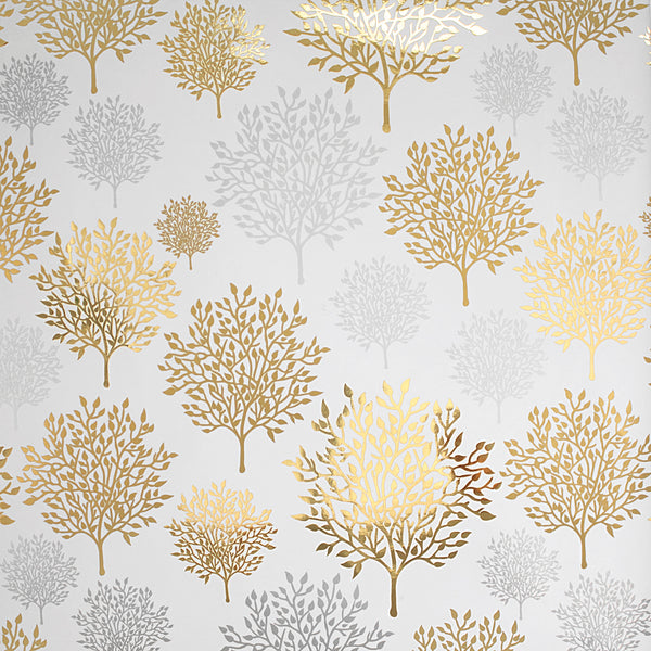 Woodland in Gold/Silver Sample