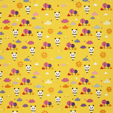 Panda Pops Yellow Novelty Counter Roll (100m x 50cm)