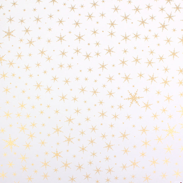 Snowflakes on your Window Gold Counter Roll (100m x 50cm)