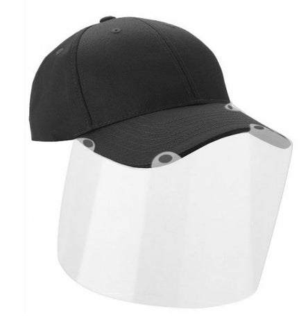 Adjustable Cap with detachable Visor