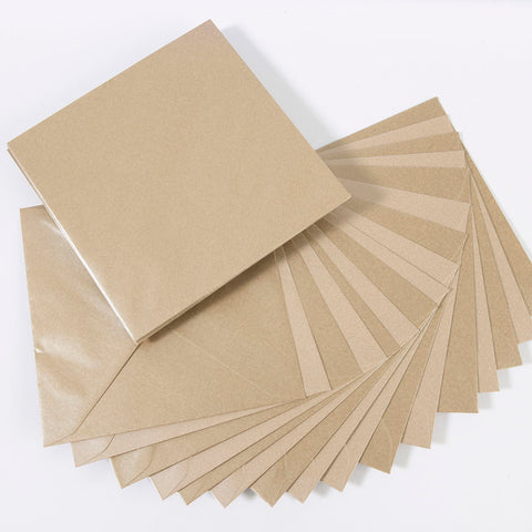 Pearlescent Envelopes Square Charlotte Cream, Pack 1000