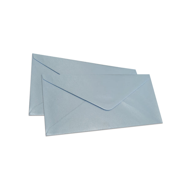 Pearlescent Envelopes DL Baby Blue, Pack 1000