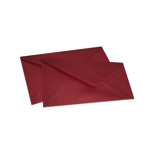 Pearlescent Envelopes DL Cherry, Pack 1000