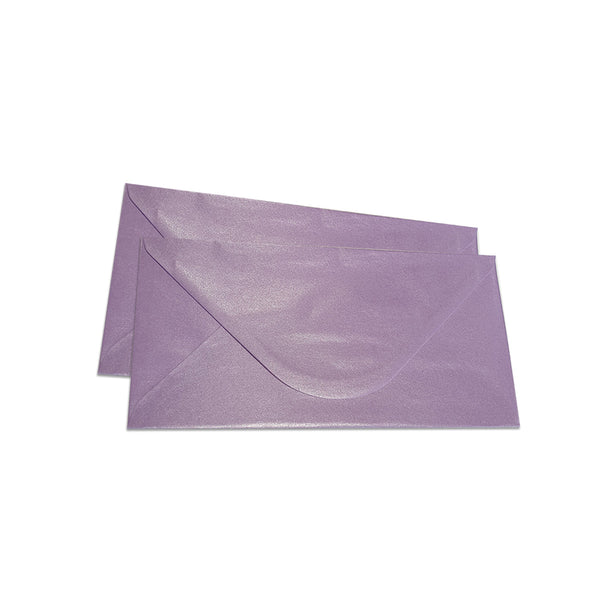 Pearlescent Envelopes DL Deep Purple, Pack 1000