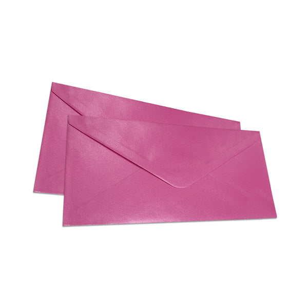 Pearlescent Envelopes DL Fuchsia, Pack 1000