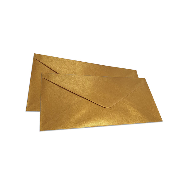 Pearlescent Envelopes DL Old Gold, Pack 1000
