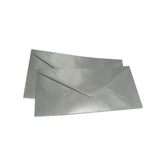 Pearlescent Envelopes DL Silver, Pack 1000