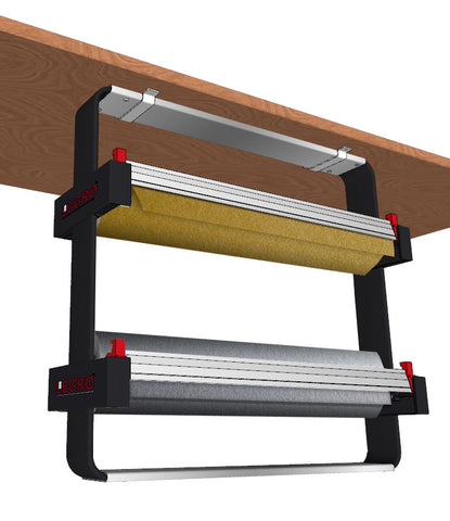 Twin Under-Counter Dispenser (Takes 2 x 30cm Counter Rolls)