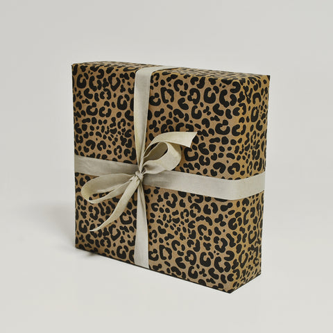 Eco Leopard Giftwrap - Enquire for Rolls or Sheets