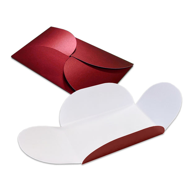 Pearlescent Pochette Wallet Cherry
