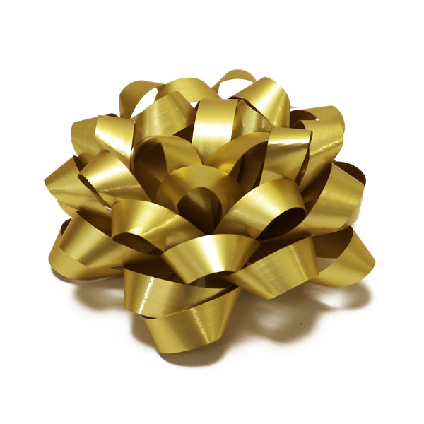 Satin Gold Confetti Bows (50)