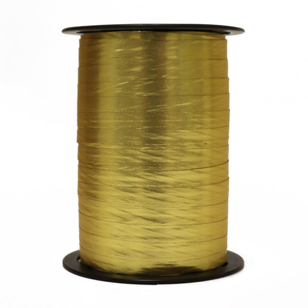 Satin Gold Curling Ribbon (7mm x 250m)