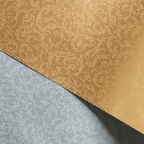 Gold Silver Leaf Doublesided Counter Roll 7489 (250m x 50cm)