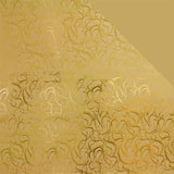 Gift Wrap Sheets - Illustrious Gold Double-sided (Pack of 25 sheets)