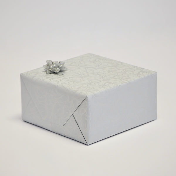 Illustrious White Silver Double-sided Counter Roll