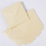 Pearlescent Envelopes Square Ivory, Pack 1000