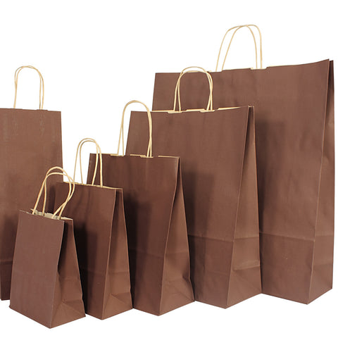 Kraft Bags from Kraft Colours range - Chocolate Brown