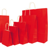 Kraft Bags from Kraft Colours range - Red