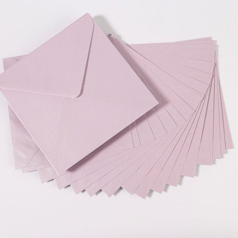 Pearlescent Envelopes Square Lavender, Pack 1000