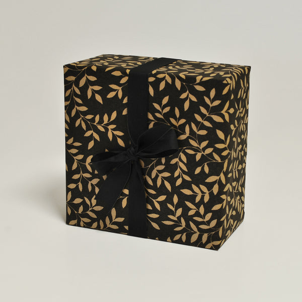 Laze in the Rays Black Giftwrap Counter Roll