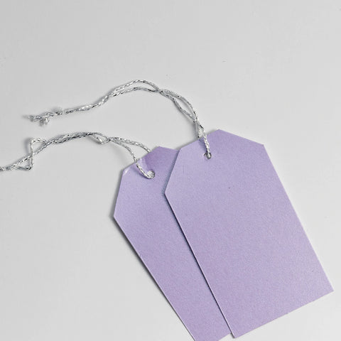 Luggage Pearl Lilac Gift Tags (50)