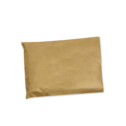 Plain Paper Mailing Bags 24cm x 34cm (Pack of 50)