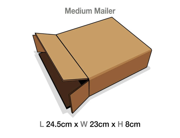 Brown Mailing Cartons to suit Medium Luxury Gift boxes