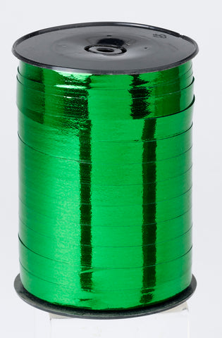Metallic Green Curling Ribbon (5mm x 500m)