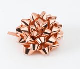 Metallic Rose Gold Confetti Bows (50)