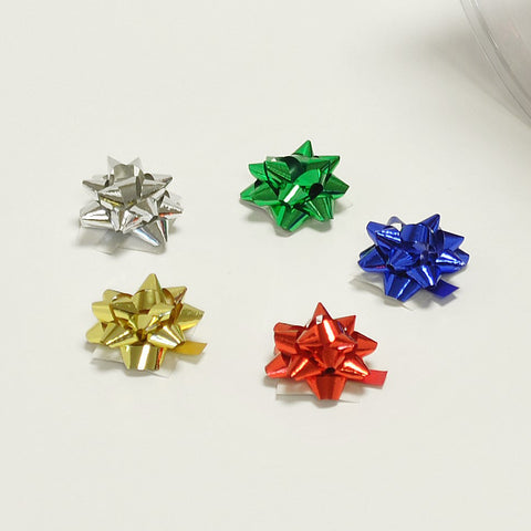 Metallic Multi Micro Bows (100)
