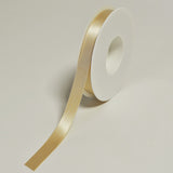 Plain Satin Ivory Ribbon