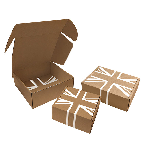 Printed Delivery Boxes, 1 colour print to corrugated boxes