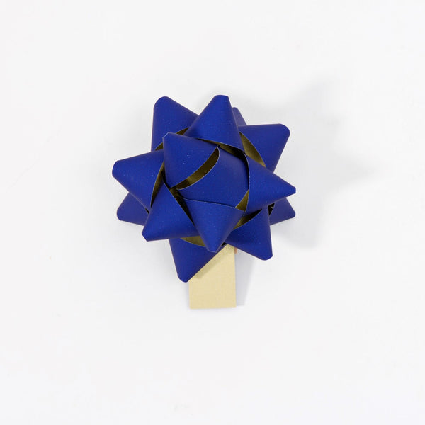 Recycled Bows - Blue (Pack 50) Double sided