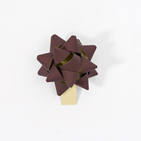 Recycled Bows - Brown (Pack 50)