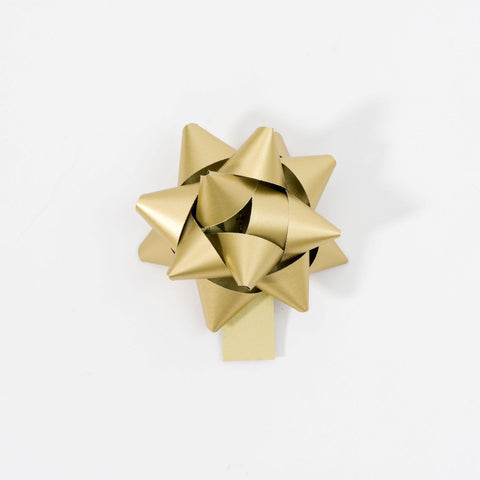 Recycled Bows - Gold (Pack 50) Double sided