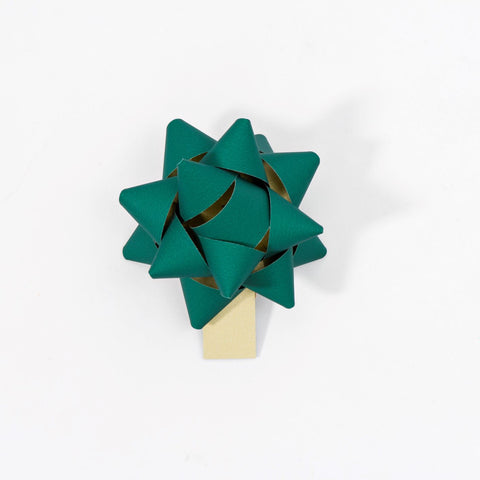 Recycled Bows - Green (Pack 50) Double sided