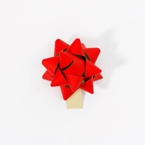 Recycled Bows - Red (Pack 50) Double sided