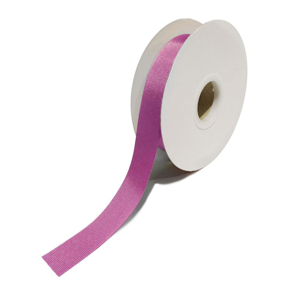 Grosgrain Cerise Ribbon (25mm x 25m)