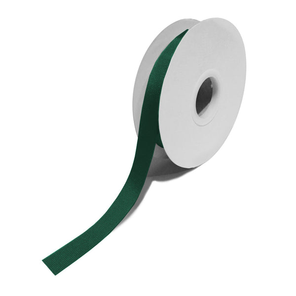 Grosgrain Dark Green Ribbon (15mm x 25m)