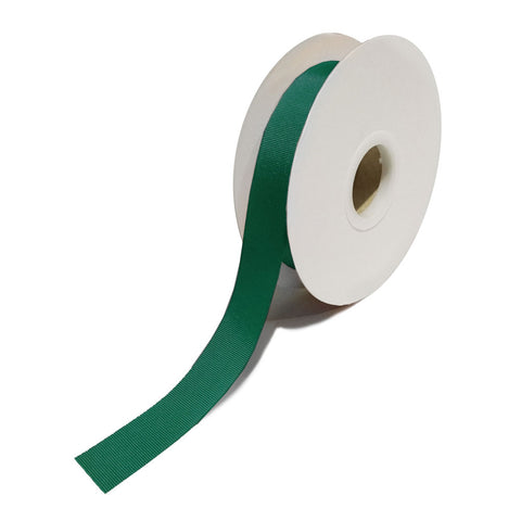 Grosgrain Dark Green Ribbon (25mm x 25m)