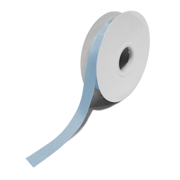 Grosgrain Pale Blue Ribbon (15mm x 25m)