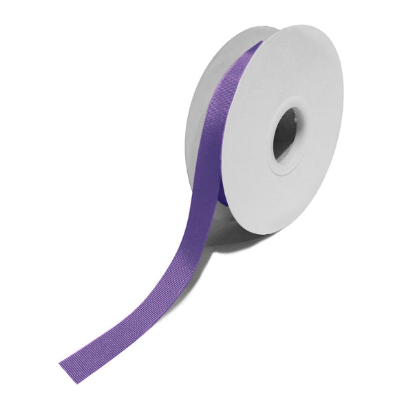 Grosgrain Purple Ribbon (15mm x 25m)