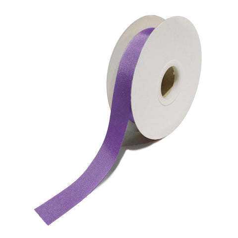 Grosgrain Purple Ribbon (25mm x 25m)