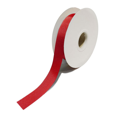 Grosgrain Red Ribbon (25mm x 25m)