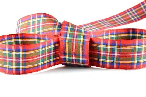 Royal Stewart Tartan Ribbon (25mm x 25m)